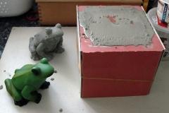 Beton-Frosch-Progress