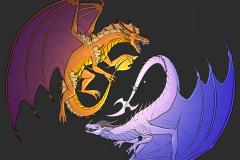 Kaijubrains-Dragons-Fen-and-Psy