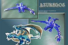 Perlen-Azuregos-Blatt