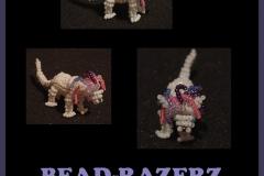Perlen-Razerz-Blatt
